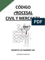 Decreto Ley 107 Código Procesal Civil y Mercantil