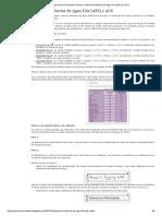 Cálculo de Tuberías de Agua Fría (AFS) y ACS