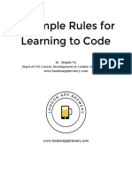 003 12 Rules to Learn to Code 1