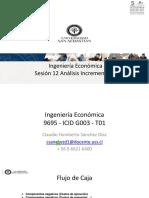 Ing Eco Sesion 12 Analisis Incrementales.pptx