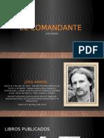 EL COMANDANTE [Autoguardado].pptx