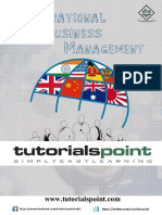 International Business Management Tutorial