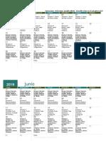 6 Meses (Excel en Español)