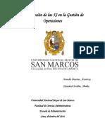 Contribución de Las 5S en La Gestión de Operaciones Trabajo Final