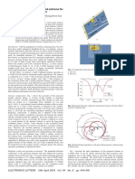 Dual-resonance-based wideband antenna for integrated module applications