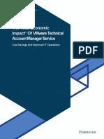 Forrester Total Economic Impact (TEI) of TAM Service - Full Report