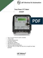 Three Phase Ltct Meter Er300p