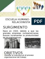 Equipo1. Escuela Humano-relacionista