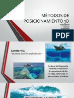Métodos de Posicionamiento 3d