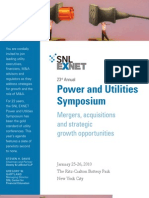 Power Utilities US M&a Symposim 2010