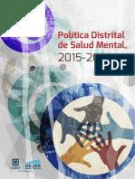 Politica de Salud Mental DC