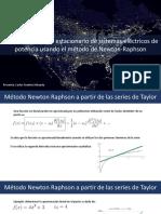 Metodo Newton Raphson Aplicado a Flujos de Potencia
