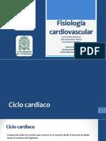 Tutoría Presión, Gasto, Ciclo Cardiaco y Control Cardiovascular
