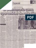El Bicentenario como oportunidad de reflexión, Mario Rommel Arce Espinoza