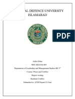 Conflict Analysis Report