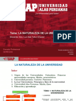 1. La Naturaleza de La Universidad