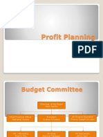 _FinMan Session 2 - Profit Planning and Budgeting