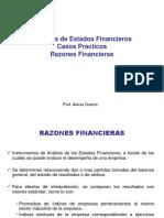 Casos 1-2 Razones Financieras