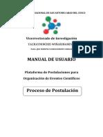 Manual de Postulacion