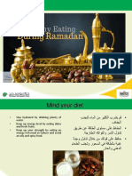 Staying Healthy in Ramadhan 2019