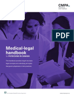 CMPA Handbook for Physicians