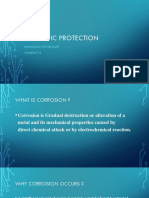 corrosion material - Cathodic Protection
