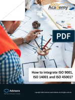 How to Integrate ISO 9001 ISO 14001 and ISO 45001 En