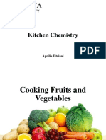 Cooking Fruits and Vegetables
