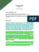 55. PLDT v. NLRC & Grace De Guzman (10) ✔️