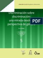 Discriminación sobre discriminación