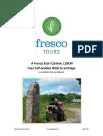 FrescoStart115k Camino Itinerary2018