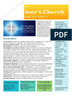 st saviours newsletter - 26 may 2019 -  easter vi