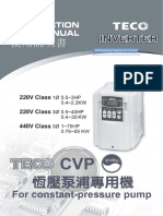 Teco CPV Series User Manual