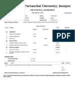 Veer Bahadur Singh Purvanchal University, Jaunpur_ Result (1)