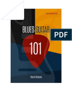 Blues Guitar 101 - Chord Shapes Sample