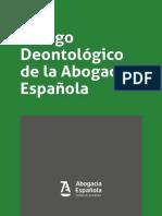 CODIGO DEONTOLOGICO 2019