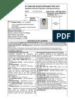 SHUATS - Entrance Test Admit Card 2019_22754.pdf