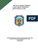 Program Manajemen Resiko RSUD Puruk Cahu