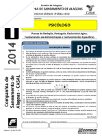 2014 - Psicólogo - CASAL - Prova