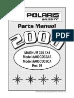 9914940(Parts Manual Magnum 325 4x4)