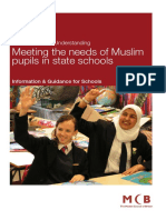2007 MCB Meeting the Needs of Muslim Pupils in State Schools