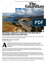 Speeding, Congestion and Protest_ the Dark Side of Scotland's North Coast 500 Route _ Travel _ the Guardian
