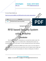 5505 Rfid Based Security System Using Arduino