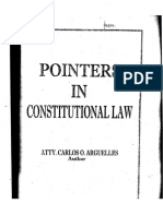 Constitutional Law Pointers Arguelles