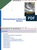 5 Shearing Stresses-Part A