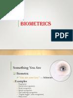 Lec - 3 - Biometrics