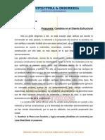 Propuesta de Estructuras Metalicas Proyecto Novoa
