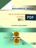 Basic Managerial Skills