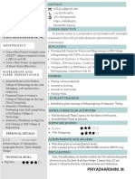 Blue Creative Resume(3)