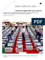 Election Commission Prepares for Bigger VVPAT Count on May 23 - The Economic Times